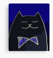 Cat in the Tux Canvas Print