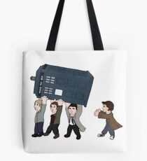 The rebel angels have the phonebox Tote Bag