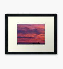 Sea Sky Framed Print
