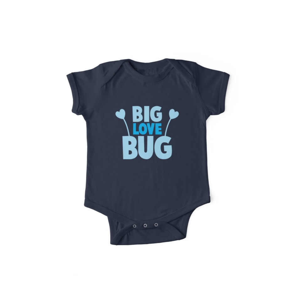 BIG LOVE BUG! with cute antennae by jazzydevil