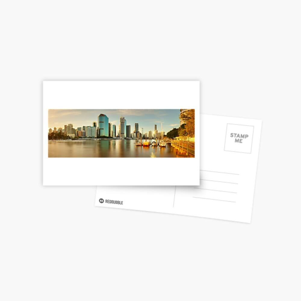 Brisbane from Kangaroo Point, Queensland, Australia Postcard