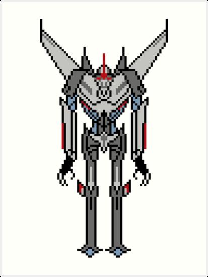 Transformers Prime Starscream Art Print By Protovampire