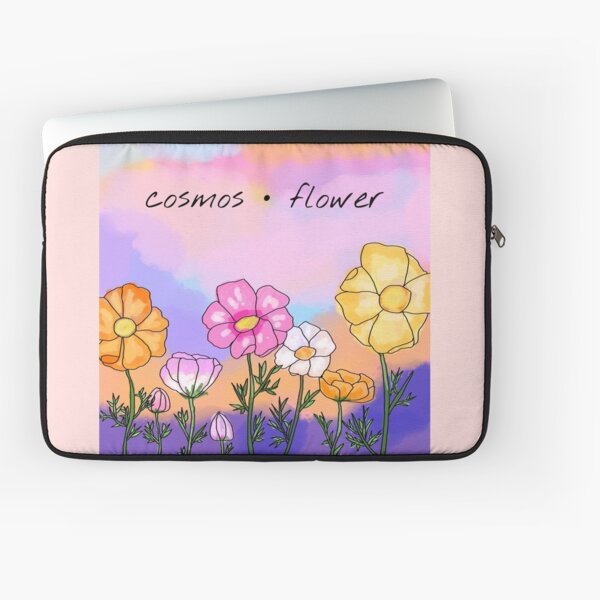 Cosmos Flowers Laptop Sleeve
