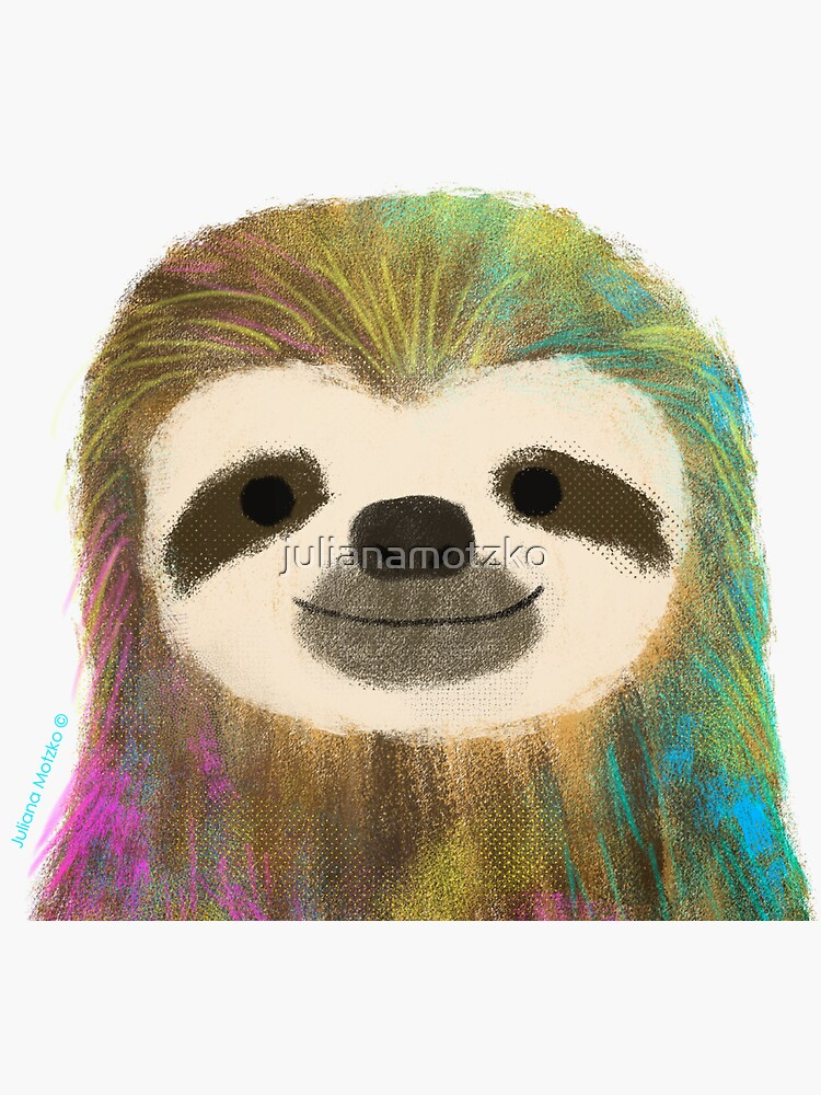 Sloth by julianamotzko