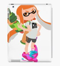Splatoon Inkling girl iPad Case/Skin