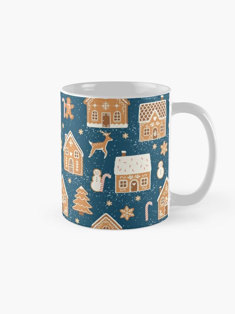Alternate view of Gingerbread Village Mug