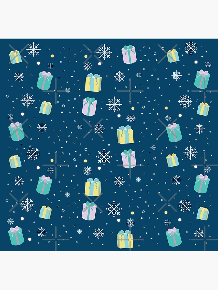 Holiday Gift Pattern Wrapping Paper by darrianrebecca