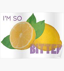 Sour Lemons Poster