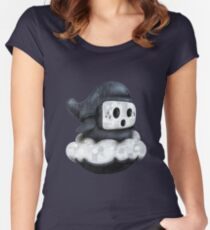 Guy Shyly Women's Fitted Scoop T-Shirt
