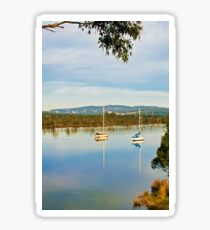 Along the Huon, Franklin Sticker