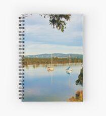 Along the Huon, Franklin Spiral Notebook