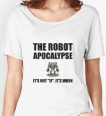 Robot Apocalypse Women's Relaxed Fit T-Shirt