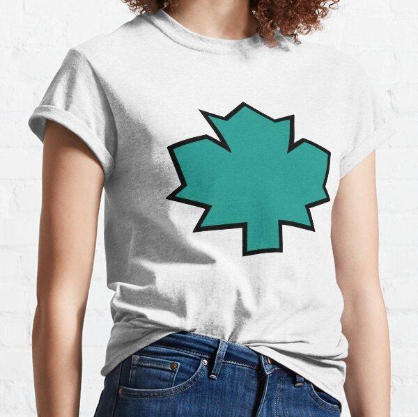 Total Drama Island Owen Maple Leaf Emblem Classic T-Shirt