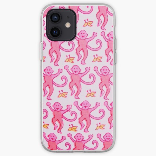 pink roller rabbit iPhone Soft Case