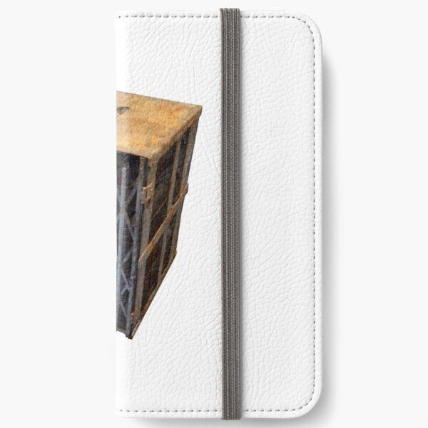 Maginot 75 mm Ammunition Cage iPhone Wallet