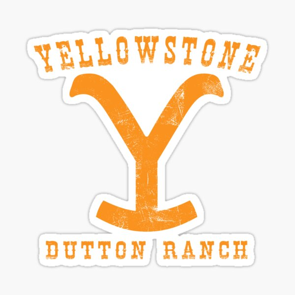 Yellowstone Dutton Ranch - Professional Quality Graphics Sticker