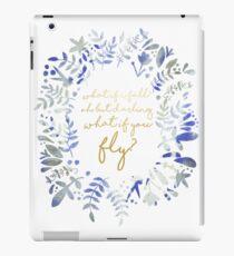 Vinilo o funda para iPad ¿Qué pasa si vuelas una cita floral?