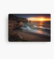 Tunnel Beach Canvas Print