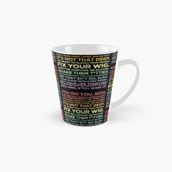 Cody Rigsby Motivational Quotes - Peloton Pastel Inspirational Tall Mug