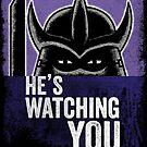 Shredder is Watching by vonplatypus