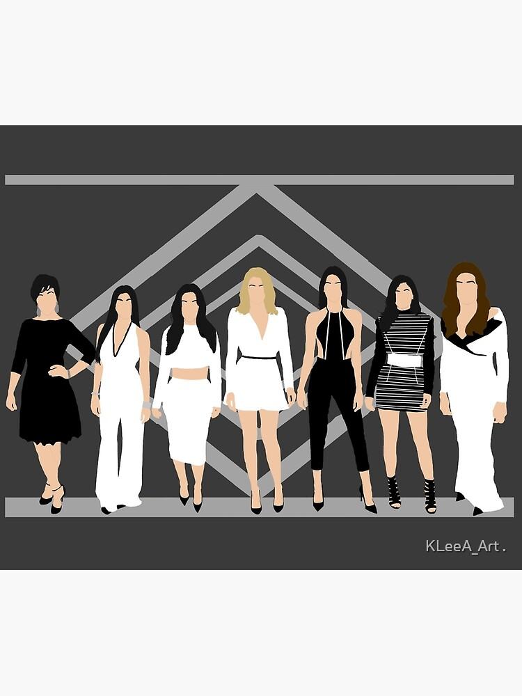 Kardashian/Jenner women by KelsieLAnderson