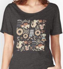Camiseta ancha para mujer Reino animal