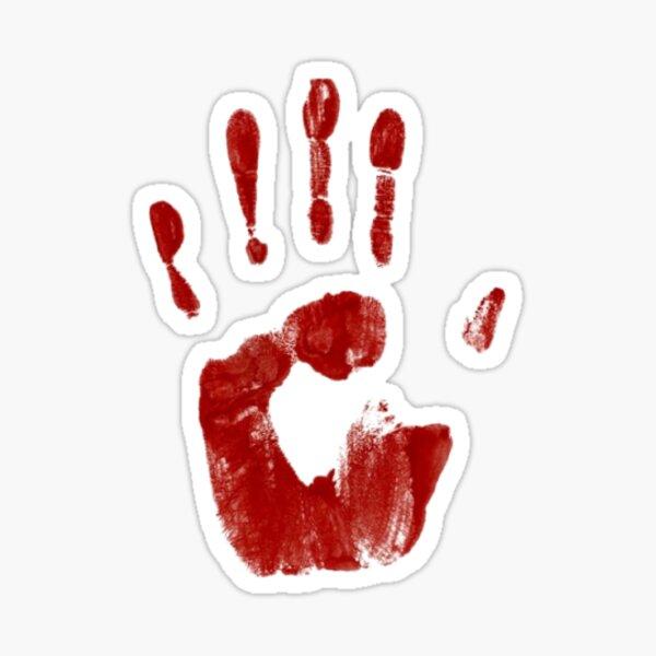 Castiel's Handprint (Supernatural) Sticker