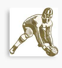 Football Player Canvas Print