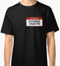 Hamilton Nametag 1 Classic T-Shirt