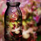 Flowers in The Bottle by Valeria Lee