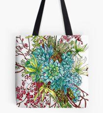 Succulents & Orchids Tote Bag