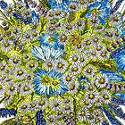 Daisies and Corn Flowers by DianneWhite