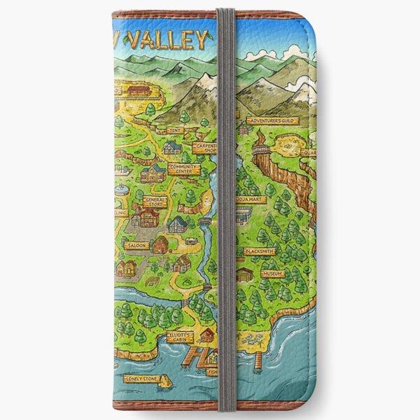 Stardew Valley Map iPhone Wallet