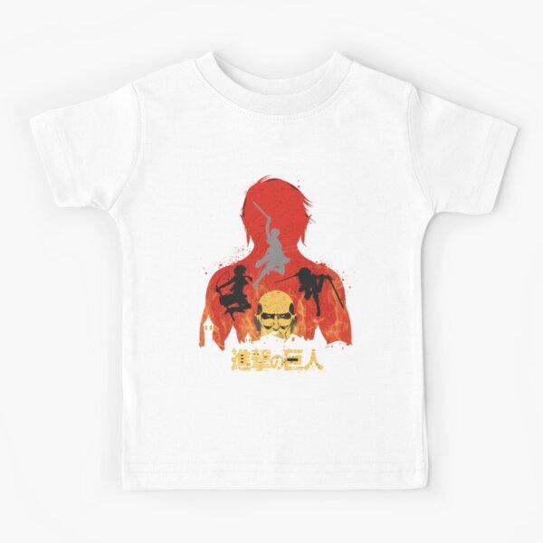 Attaque sur Titan | Shingeki no Kyojin T-shirt enfant