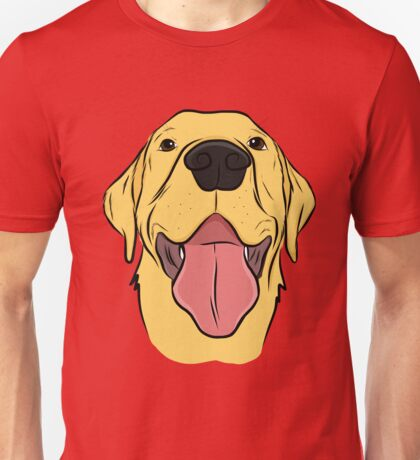 Happy Yellow Lab Unisex T-Shirt