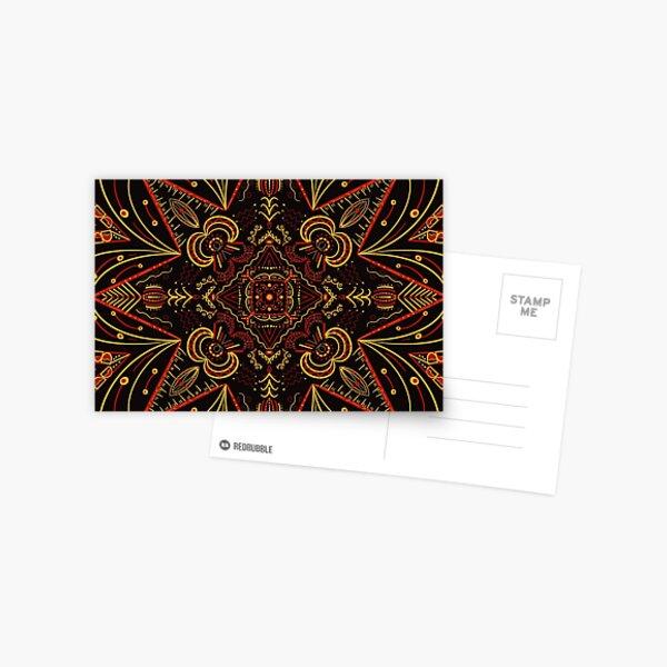 Olly's Mandala Postcard