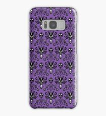 Haunted Mansion Wallpaper Samsung Galaxy Case/Skin