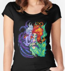 You Poor Unfortunate Soul Women's Fitted Scoop T-Shirt