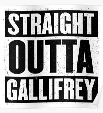 Straight Outta Gallifrey - The Time Lord's in the Hood - Movie Mashup - Geek Humor - Syfy - Doctor Who Mashup Poster