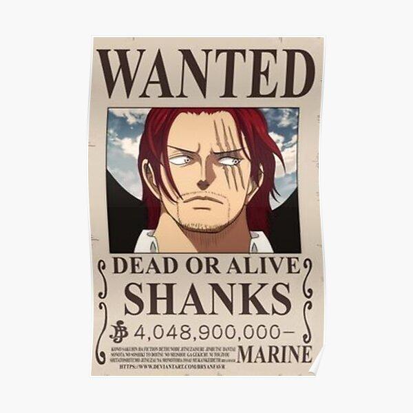 shanks Poster