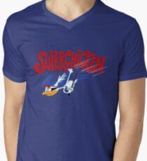 Super Chicken Men's V-Neck T-Shirt