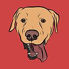 Yellow Lab by rmcbuckeye