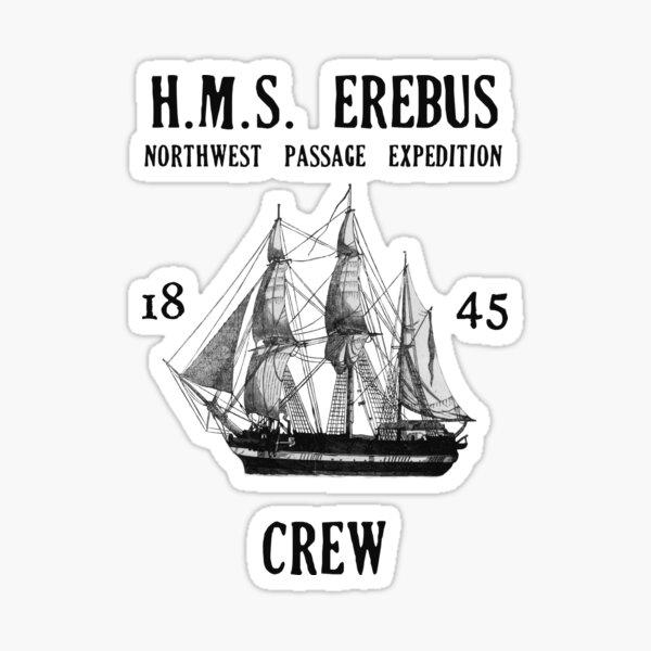 H.M.S. Erebus Sticker