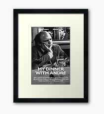 My Dinner with Andre Poster Framed Print