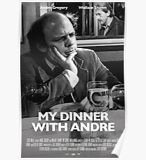My Dinner with Andre Poster Poster