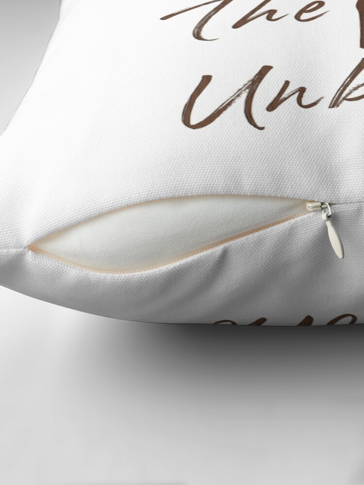 Alternate view of Sanctuary for the Unborn Throw Pillow