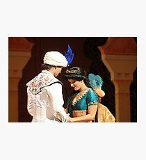 Aladdin's final performance Photographic Print