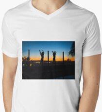 Twinning  Men's V-Neck T-Shirt