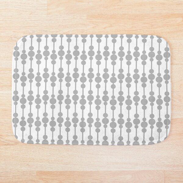 Perle (Gray/White) Bath Mat