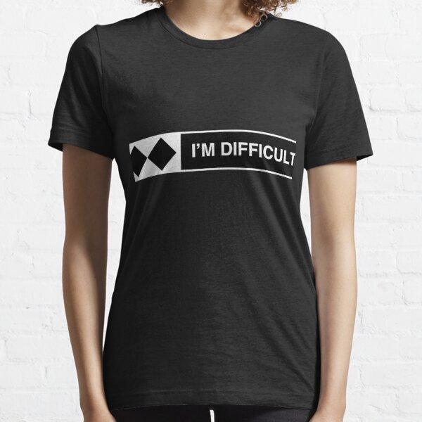 I'm Difficult Ski Snowboard Essential T-Shirt